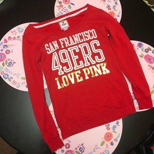 NFL 49ers VS PINK sweatshirt!